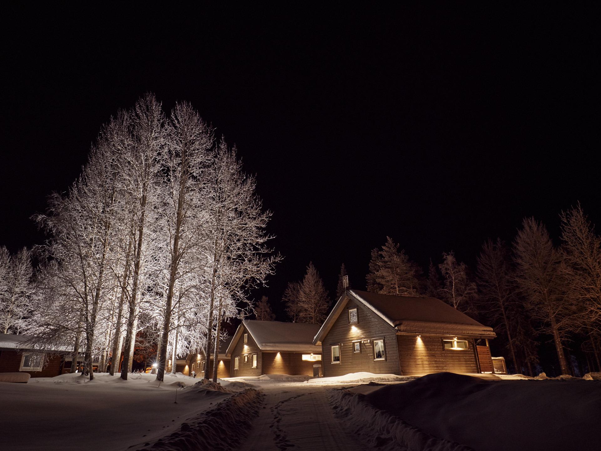 Cabins att Jockfall Lodge